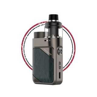 Image 2 de la e-cigarette kit Swag PX80 Gun Metal de Vaporesso