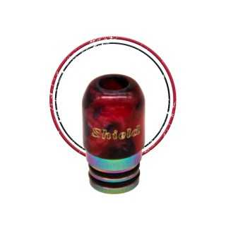 Image 2 du drip tip 510 Shields red de Shield Cig