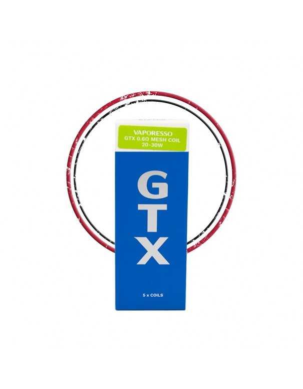 Pack résistances GTX (x5) PM80