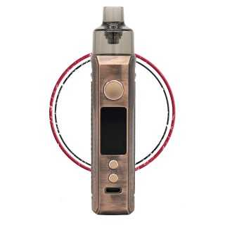Image 9 de la e-cigarette kit Drag X Bronze Knight de Voopoo