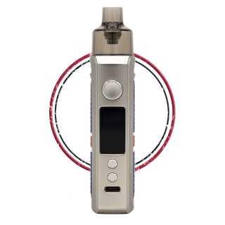 Image 13 de la e-cigarette kit Drag X Silver Knight de Voopoo