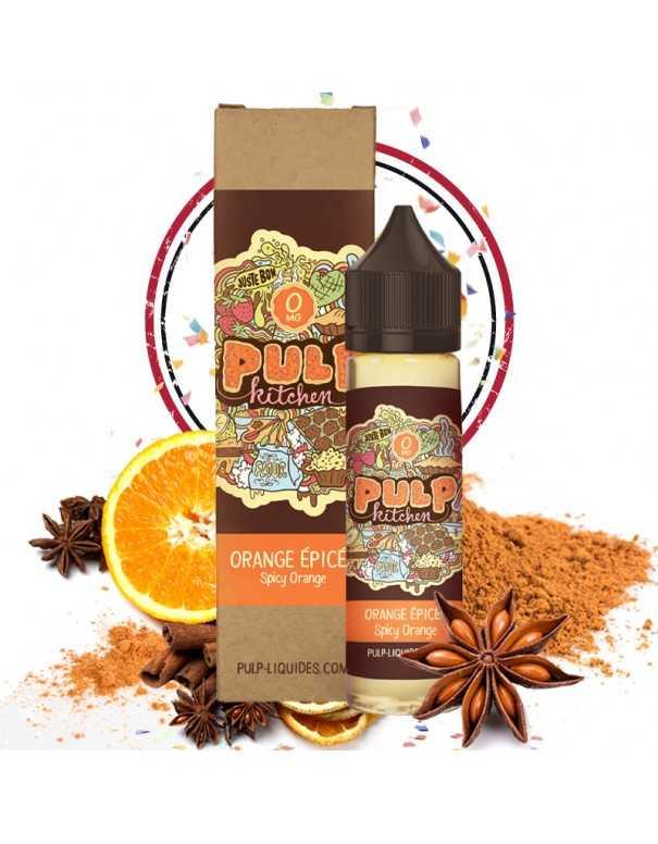 Image principale du e-liquide Orange Epicée en 50ml de chez Pulp
