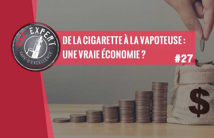 De la cigarette à la vapoteuse : une vraie économie ?