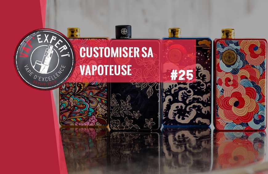 Customiser sa vapoteuse ? Apprenez à rendre votre e-cigarette unique.