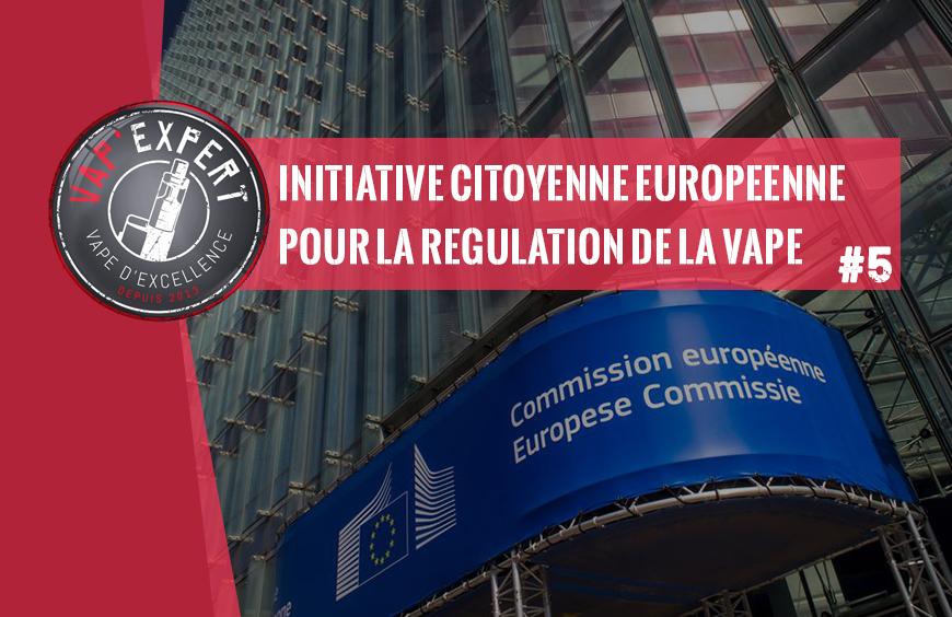 Une initiative citoyenne européenne pour la régulation de la vape